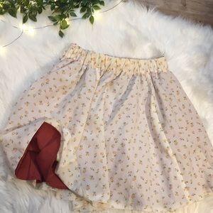 Dresses & Skirts - Vintage Reversible Mini Skirt